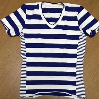 ウノピゥウノウグァーレトレ(1piu1uguale3)の1piu1uguale 3 ボーダーTシャツ(Tシャツ/カットソー(半袖/袖なし))
