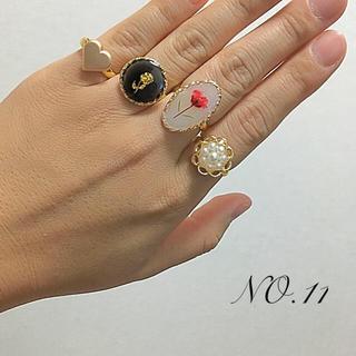 【♡新作】▶︎ リング4点セット NO.11
