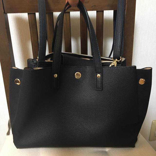 しまむら(シマムラ)のしまむら トートバッグ ハンドバッグ ショルダーバッグ レディースのバッグ(トートバッグ)の商品写真
