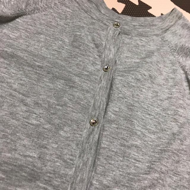 しまむら(シマムラ)のしまむら❤︎袖リボンカーディガン レディースのトップス(カーディガン)の商品写真