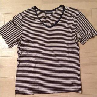 サンスペル(SUNSPEL)のSUNSPEL ボーダー Tシャツ L(Tシャツ/カットソー(半袖/袖なし))