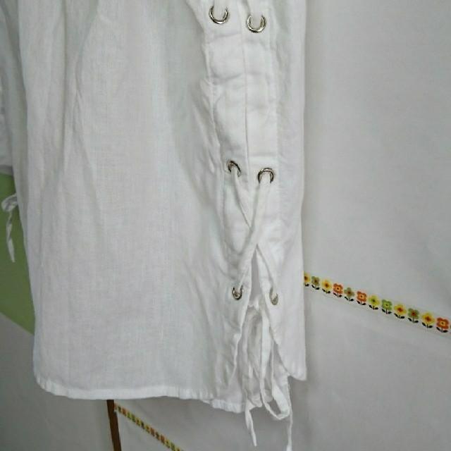 ZARA(ザラ)のZARA●未使用シャツ レディースのトップス(シャツ/ブラウス(長袖/七分))の商品写真