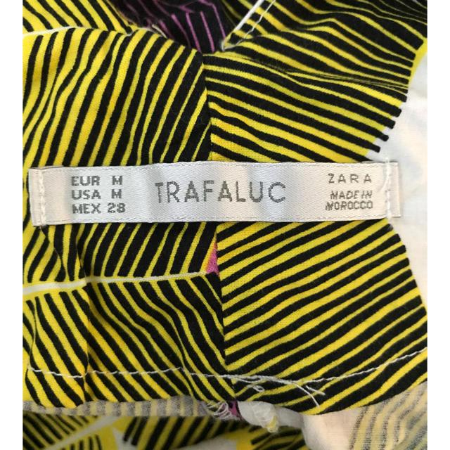 ZARA(ザラ)のZARA アフリカン フリル トップス  Mサイズ レディースのトップス(その他)の商品写真