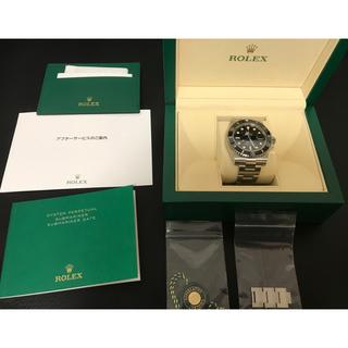 ROLEX - ①【国内正規店購入未使用】サブマリーナデイト116610LN