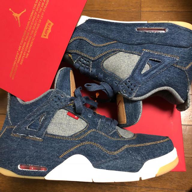 NIKE(ナイキ)のAIR JORDAN 4 RETRO LEVI'S NRG 28.5 10.5 メンズの靴/シューズ(スニーカー)の商品写真