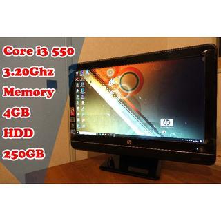 ★割り切り型リビングPC★ Core i3 メモリ4GB HDD250GB