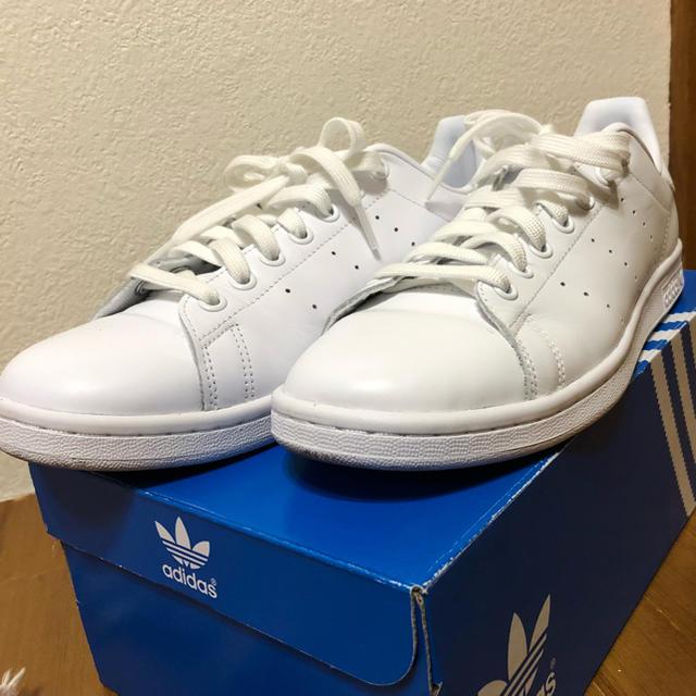 adidas(アディダス)の大幅値下げ アディダス スタンスミス オールホワイト 限定カラー メンズの靴/シューズ(スニーカー)の商品写真