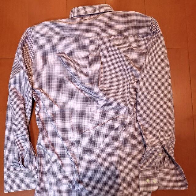 GU(ジーユー)のギンガムチェック柄 長袖ワイシャツ メンズのトップス(シャツ)の商品写真