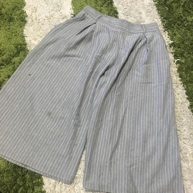 GU(ジーユー)のユニクロ GU ガウチョセット レディースのパンツ(カジュアルパンツ)の商品写真