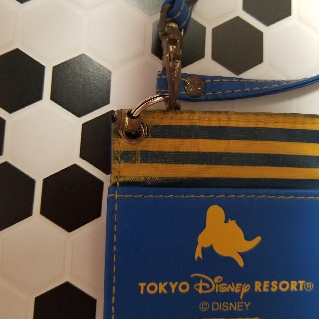 Disney(ディズニー)のディズニーランド ドナルド パスケース レディースのファッション小物(名刺入れ/定期入れ)の商品写真
