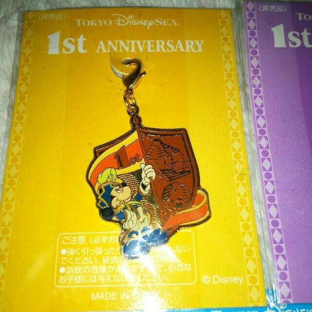 Disney(ディズニー)のディズニーシー 非売品 1周年 記念 ミッキー エンタメ/ホビーのおもちゃ/ぬいぐるみ(キャラクターグッズ)の商品写真