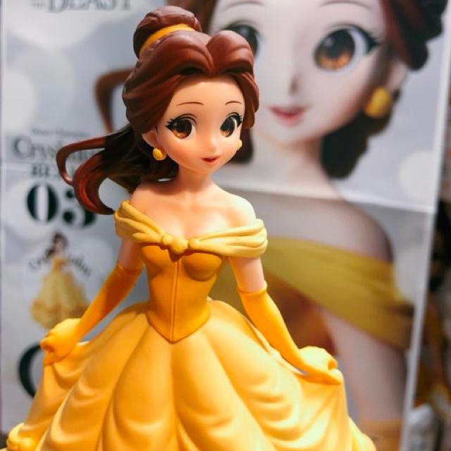 Disney(ディズニー)のDisney Characters Crystalux ベル フィギュア  エンタメ/ホビーのフィギュア(アニメ/ゲーム)の商品写真