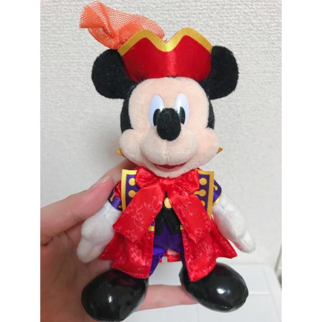 Disney(ディズニー)のミッキーマウス ぬいぐるみバッジ エンタメ/ホビーのおもちゃ/ぬいぐるみ(キャラクターグッズ)の商品写真