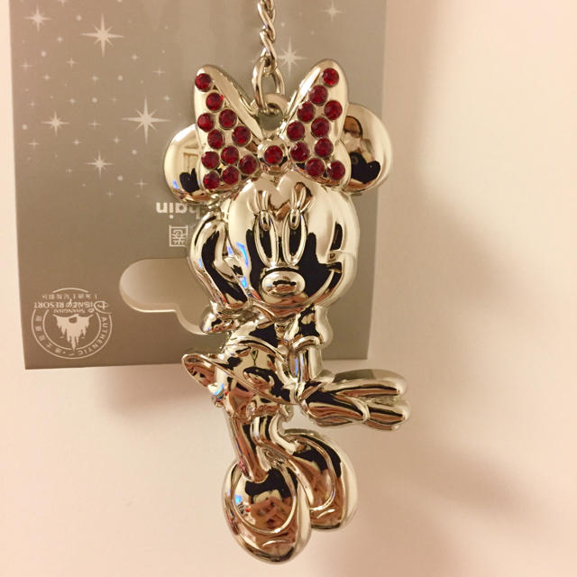 Disney(ディズニー)の上海♡ディズニー♡ミニー♡キーチェーン エンタメ/ホビーのおもちゃ/ぬいぐるみ(キャラクターグッズ)の商品写真