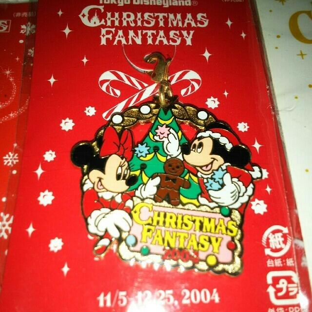 Disney(ディズニー)のディズニー 非売品 キーホルダー クリスマス エンタメ/ホビーのおもちゃ/ぬいぐるみ(キャラクターグッズ)の商品写真