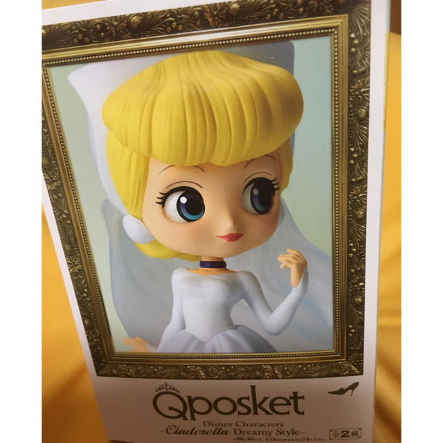Disney(ディズニー)のQposket シンデレラ ハンドメイドのおもちゃ(フィギュア)の商品写真