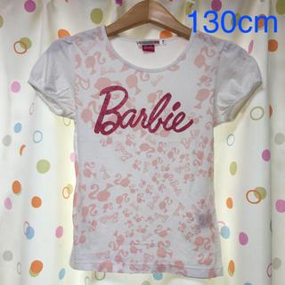 バービー(Barbie)の☆Barbie☆Tシャツ(130cm)(Tシャツ/カットソー)