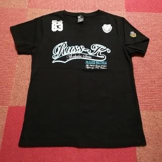 ラスケー(RUSS・K)のRUSS-K  Tシャツ  半袖  黒 M(Tシャツ/カットソー(半袖/袖なし))