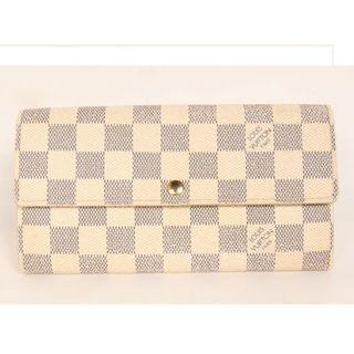 ルイヴィトン(LOUIS VUITTON)の美品 ルイヴィトン ダミエ 長財布(財布)