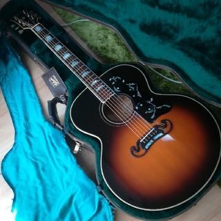 ギブソン(Gibson)の特価!Gibson J-200 1993年!良く鳴ります!(アコースティックギター)