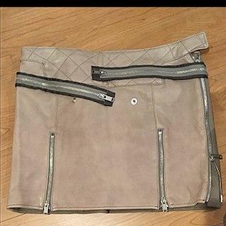 アンダーカバー(UNDERCOVER)のアンダーカバー レザースカート レザー スカート(ミニスカート)