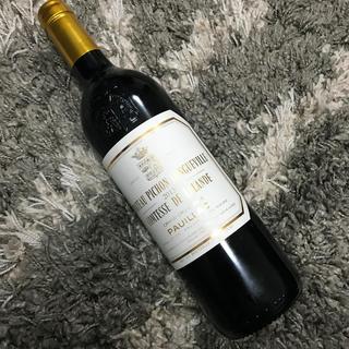 2013 シャトー ピション ロングヴィル コンテス ド ラランド(ワイン)