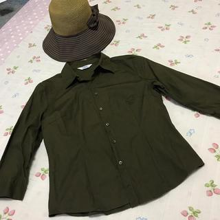 ジェイプレス(J.PRESS)のJ.PRESS カーキシャツ(シャツ/ブラウス(長袖/七分))