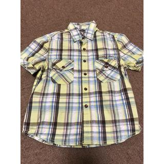 イッカ(ikka)の☆未使用☆男の子110 チェックシャツ ikka(Tシャツ/カットソー)