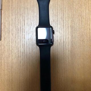 アップルウォッチ(Apple Watch)の【むー様専用】AppleWatchSeries2ステンレスレザーバンド付き(腕時計(デジタル))