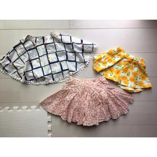 アコバ(Acoba)の丸高衣料 乳児 スカートセット 90cm(スカート)