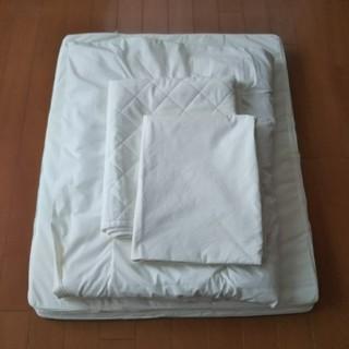 ムジルシリョウヒン(MUJI (無印良品))の無印良品 ベビー布団 4点セット used(ベビー布団)