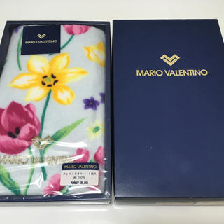 マリオバレンチノ(MARIO VALENTINO)のマリオバレンチノ タオル 未使用(タオル/バス用品)
