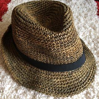 ムジルシリョウヒン(MUJI (無印良品))の麦わら帽子 レディース 無印(麦わら帽子/ストローハット)
