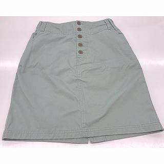 ピュアルセシン(pual ce cin)の鮮やかミントグリーン スカート(ひざ丈スカート)
