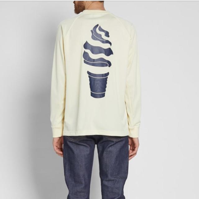adidas(アディダス)の完売 XS ✨FOOTBALL LS TEE adidas オリジナルス メンズのトップス(Tシャツ/カットソー(七分/長袖))の商品写真
