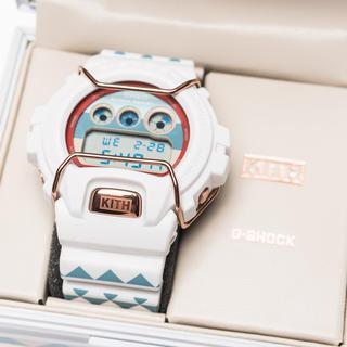 ジーショック(G-SHOCK)の正規 KITH X G SHOCK 6900 時計 supreme lebron(腕時計(デジタル))