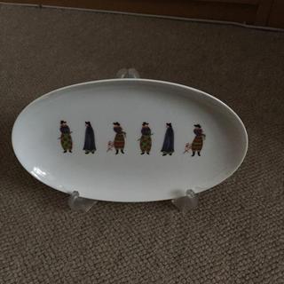 コウランシャ(香蘭社)の香蘭社 異邦人プレート皿(食器)