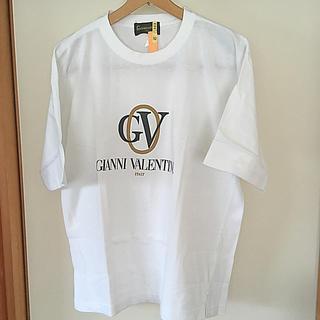 ジャンニバレンチノ(GIANNI VALENTINO)のハイブランドGIANNIVALENTINO ビッグロゴ コットンTシャツ(Tシャツ/カットソー(半袖/袖なし))