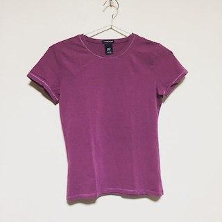 ギャップ(GAP)の美品 GAP 紫 ストレッチTシャツ(その他)