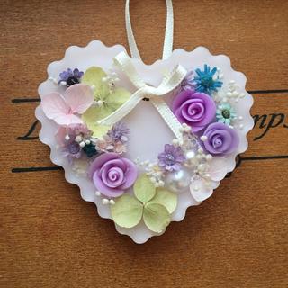 お花畑⑤紫 ※アロマワックスサシェ (アロマ/キャンドル)
