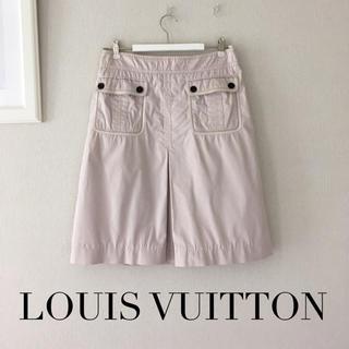 ルイヴィトン(LOUIS VUITTON)のLOUIS VUITTON 38ピンクスカート(ひざ丈スカート)