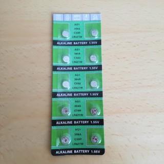 SR621SW互換 LR621 364A AG1      ボタン電池10コ(その他)