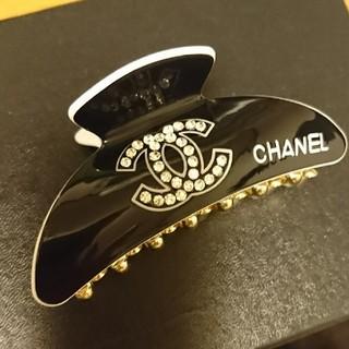 シャネル(CHANEL)のCHANELブラック(バレッタ/ヘアクリップ)