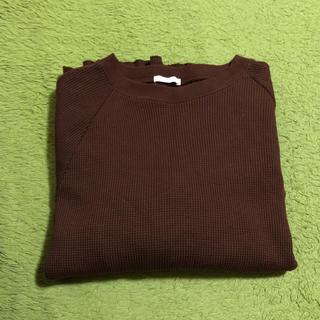 GU リブニットシャツ ☺︎
