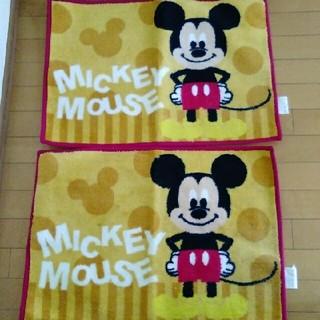 ディズニー(Disney)の【新品】ミッキーマウス♡キッチンマット(キッチンマット)