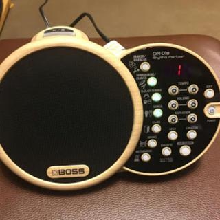ボス(BOSS)のドラムマシン boss dr-01s(電子ドラム)