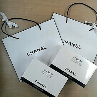 シャネル(CHANEL)のシャネル  コットン2個セット WA053)(その他)