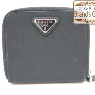プラダ(PRADA)の美品♪ プラダ PRADA ナイロン ファスナー財布/[6967](財布)