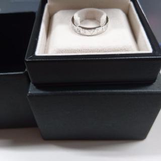 ブルガリ(BVLGARI)のブルガリダブルロゴリング1Pダイヤ16,5号くらい(リング(指輪))