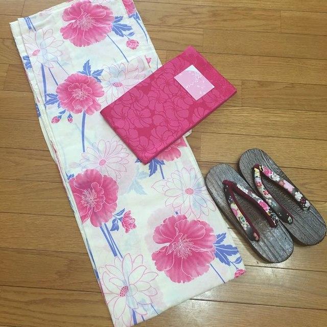 【売り切れました♡】2016年 新作 浴衣 3点セット レディースの水着/浴衣(浴衣)の商品写真